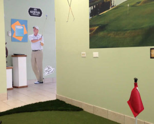 Steve Stricker likes the South River Indoor Golfers Club